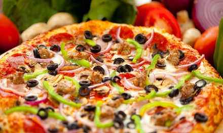 Selection of Pizzas for Two at Parker's Comedy & Jive