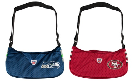 NFL Team Jersey Purse. Multiple Teams Available. Free Returns.