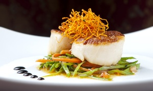 Ophelia's on the Bay: $15 for $30 Worth of Seafood and Continental Fare at Ophelia's on the Bay