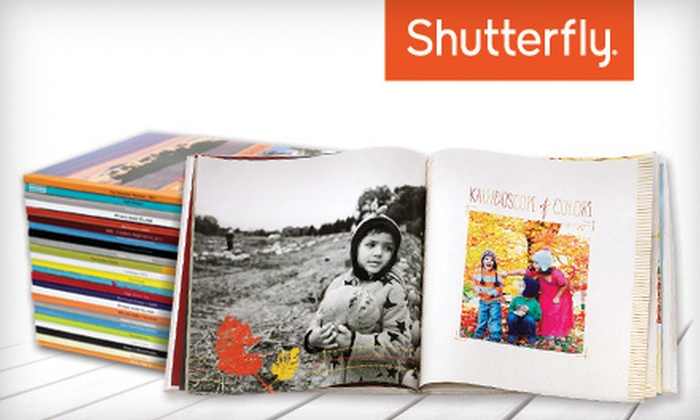 Shutterfly Photo Book: 8x8 or 8x11 Customizable Photo Book from Shutterfly (Up to 67% Off)