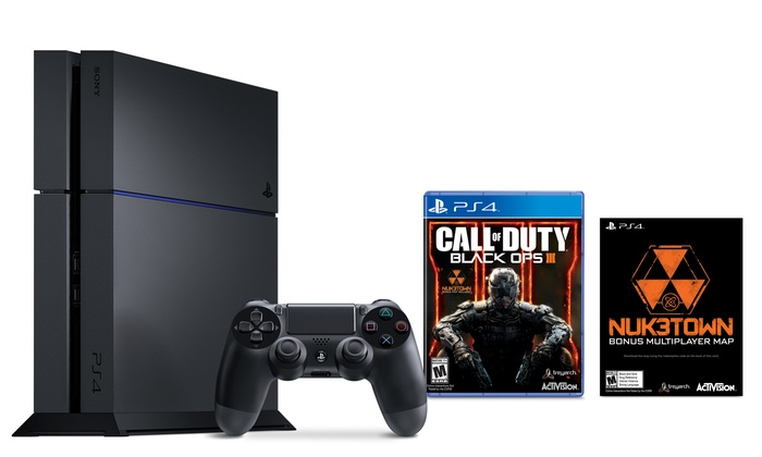 b7122ea37a0fc PlayStation 4 500GB Console with Call of Duty  Black Ops III