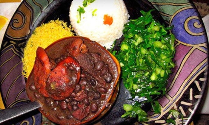 Canto Do Brasil Restaurant - Civic Center: Brazilian Dinner for Two or Four at Canto Do Brasil Restaurant (Up to Half Off)
