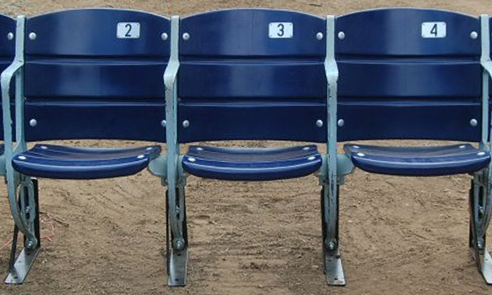 The Cowboy House - The Cowboy House: One, Two, or Three Texas Stadium Seats or One Texas Rangers End-Cap Seat from The Cowboy House (Up to 59% Off)