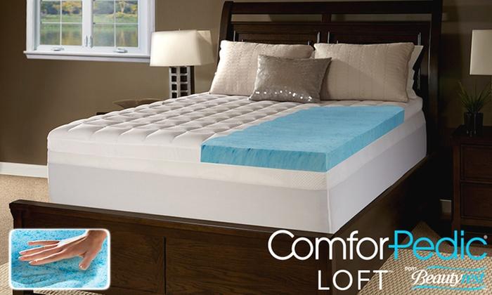 Comforpedic Loft From Beautyrest 5 5 Quot Gel Foam And Fiber