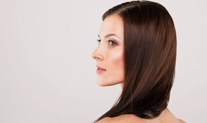 Hair Las Olas: Haircut and Color Retouch or Keratin Treatment, Haircut, and Optional Highlights at Hair Las Olas (Up to 60% Off)
