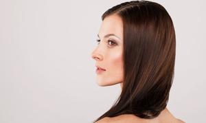 Hair Las Olas: Haircut and Color Retouch or Keratin Treatment, Haircut, and Optional Highlights at Hair Las Olas (Up to 60% Off)