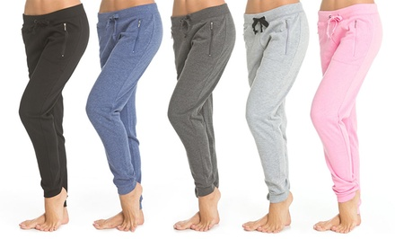 2-Pack of Coco Limon Fleece Women's Jogger Pants