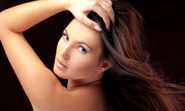 Genna at Serendipity Salon & Boutique - Bombshells & Bullets: $99 for an Original Brazilian Blowout with Genna at Serendipity Salon ($225 Value)