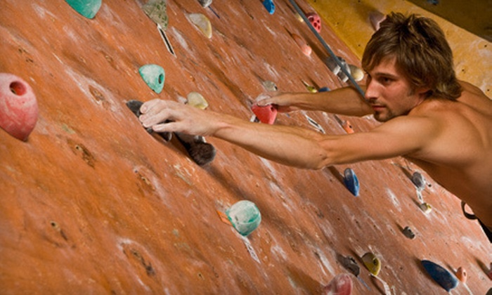 The District - Pearl Brewery: One-Month Membership or Three or Six Climbing Sessions or Classes with Rentals at The District (Up to 53% Off)