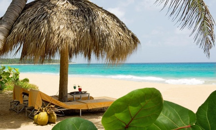 groupon daily deal - 3-, 4-, 5-, or 7-Night European or All-Inclusive Stay for Two at Sivory Punta Cana Boutique Hotel in Dominican Republic