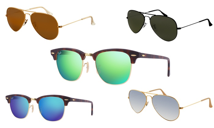 Max Vision Trading LLC: Ray-Ban Clubmaster/Aviator Sunglasses from AED 349 (Up to 46% Off)