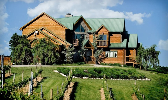 The Lodge at Elk Creek Vineyards - Owenton, KY: One- or Two-Night Stay with Cheese Plate and Vineyard Tour at The Lodge at Elk Creek Vineyards. Valid Sunday–Thursday.
