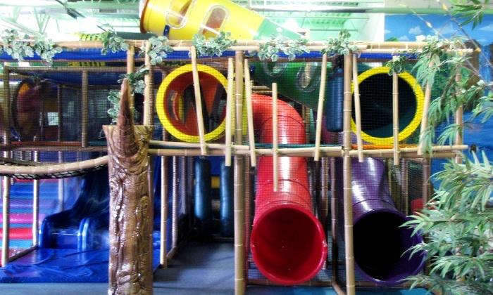 Amazone Family Entertainment Center - Medina: Fun-Center Playground Visit with Optional Laser Tag for Two at Amazone Family Entertainment Center (50% Off)