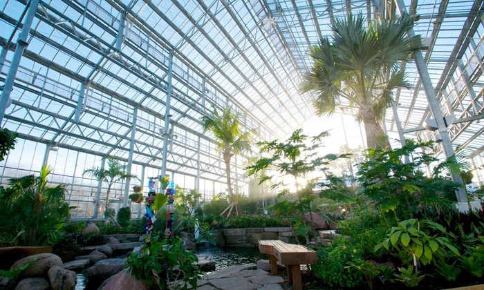 Nicholas Conservatory & Gardens - Sinnissippi Park: Nicholas Conservatory & Gardens Visit for Two or Four (Up to 50% Off)
