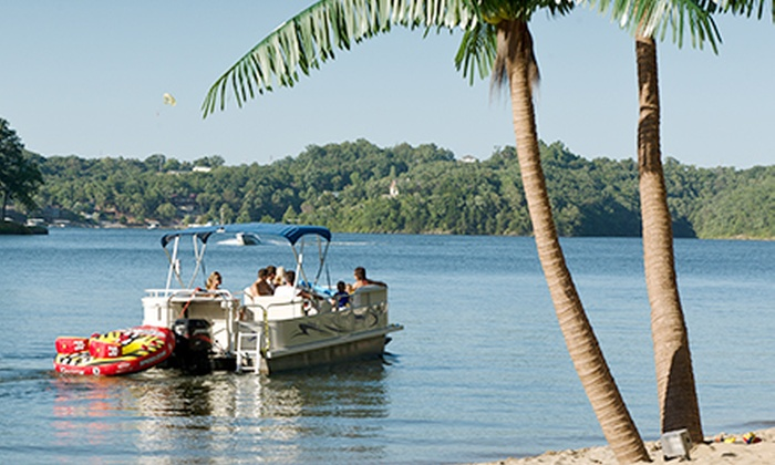 Iguana Watersports, Inc. - Multiple Locations: Full-Day Deluxe Tritoon Boat or Deluxe Speedboat Rental at Iguana Watersports, Inc. (Half Off)