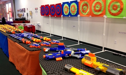 Two Hour Foam-Dart Gun Battle for Four or Six at Dart Ops in San Bruno (Up to 52% Off)