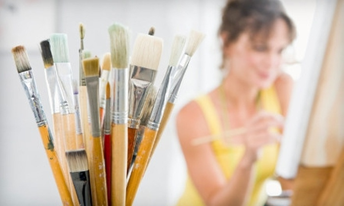 The Art Experience - Pontiac Downtown: $12 for Five Open-Studio Sessions at The Art Experience ($25 Value)