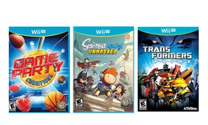 Family Game Bundles for Wii U
