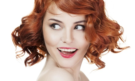 Haircut with Shampoo and Style from Lush Salon -Elisa Lewis (60% Off)
