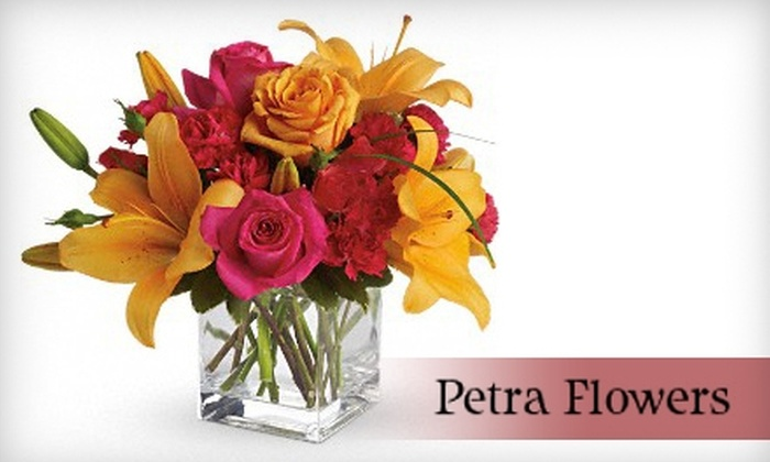 Petra Flowers - East Lansing: $35 for $70 Worth of Flowers at Petra Flowers