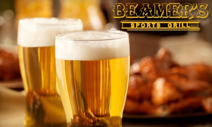 Beamer's Sports Grill - Jefferson: $10 for $20 Worth of All-American Fare and Drinks at Beamer's Sports Grill