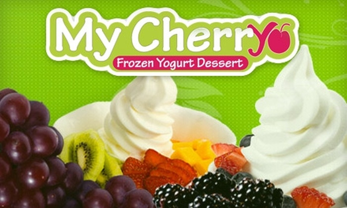 My Cherryo - Central Carrollton: $5 for $10 Worth of Healthy, Natural Frozen Yogurt at My Cherryo in Carrollton
