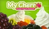 My Cherryo (frozen yogurt) - Central Carrollton: $5 for $10 Worth of Healthy, Natural Frozen Yogurt at My Cherryo in Carrollton