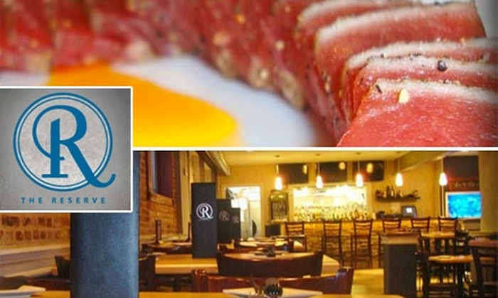 The Reserve - SBIC/ West Federal Hill: $35 Worth of Upscale Pub Fare at The Reserve