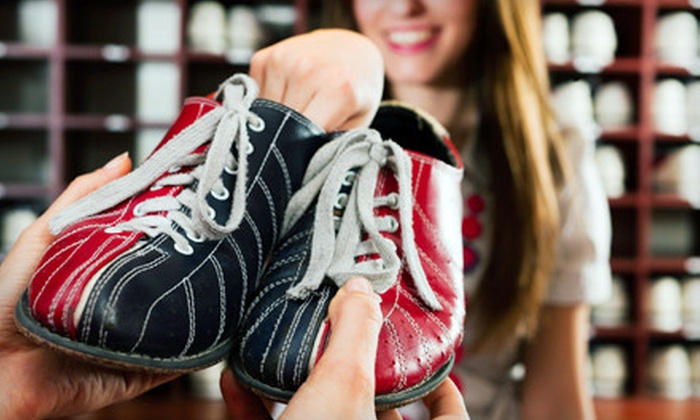 Fun Time Lanes - Holyoke: $25 for Bowling Outing for Up to Four with Shoe Rentals at Fun Time Lanes in Holyoke ($50 Value)