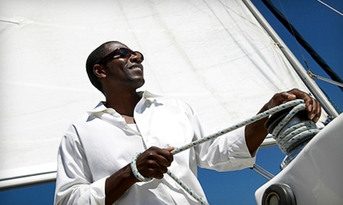 Windsong Sailing Academy - Buford: Intro Class with Sailing Outing at Windsong Sailing Academy. Two Options Available.