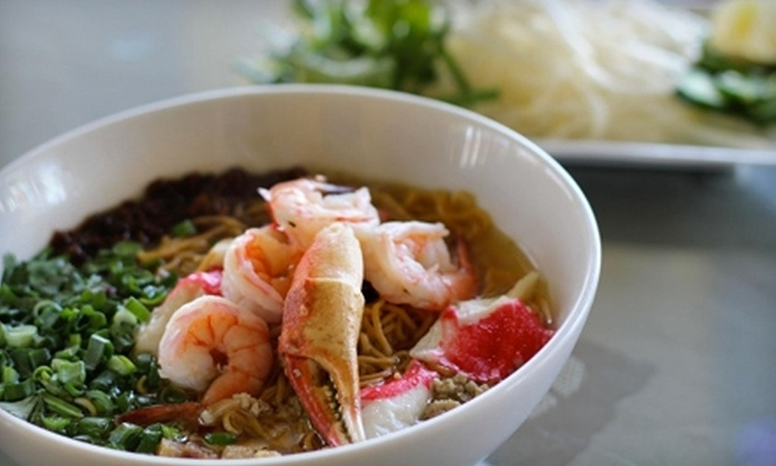 Song Ngu - Milpitas: $7 for $14 Worth of Vietnamese Cuisine at Song Ngu in Milpitas
