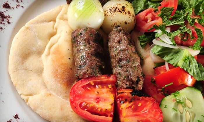 Fyza's Alwadi Mediterranean Sandwiches - Houston: Mediterranean Dinner for Two or Four at Fyza's Alwadi Mediterranean Sandwiches