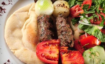 Dinner for 2 (a $31 value) - Fyza's Alwadi Mediterranean Sandwiches in Houston