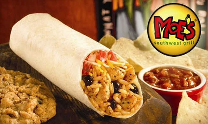Moe's Southwest Grill - Memphis: $5 for $10 Worth of Southwestern Fare at Moe's Southwest Grill