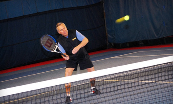 Fore Court Racquet & Fitness Club  - South Attleboro Village: 90 Minutes or Three Hours of Indoor Tennis at Fore Court Racquet & Fitness Club in Cumberland (Up to 59% Off)