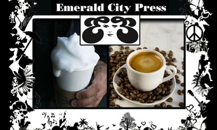 Emerald City Press - Zilker: $10 for $30 Worth of Coffee Drinks at Emerald City Press