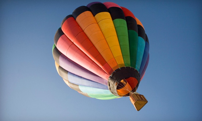 Balloon Quest - Capt. Phogg Balloon Rides - Fenton: One-Hour Hot Air Balloon Ride for One, Two, or Four from Balloon Quest–Capt. Phogg Balloon Rides in Fenton (Up to 46% Off)