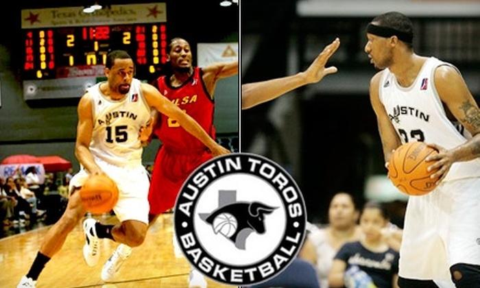 Austin Toros - South River City: $12 Ticket to Austin Toros vs. Utah Flash on Friday, April 2, at 7:30 p.m. ($23 Value)