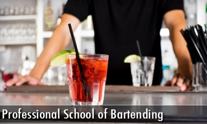 Professional School of Bartending - Federal Hill: $125 for a 35-Hour Bartending Course at the Professional School of Bartending (Up to $399 Value)