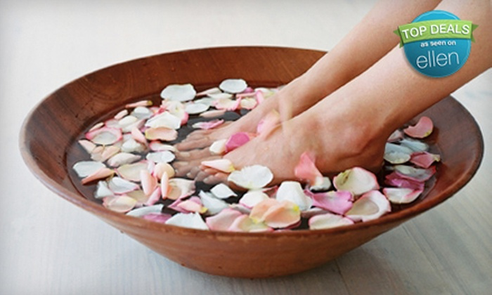 Imagos Day Spa - Kendall: $99 for a Spa Day with Refresher Facial, Rose-Petal Bath, Mani-Pedi, and Swedish Massage at Imagos Day Spa ($260 Value)