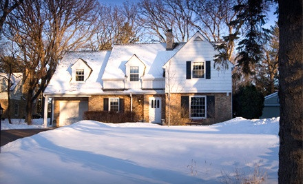 Full Season of Snow Removal for a House (a $375 value) - AG Maintenance in