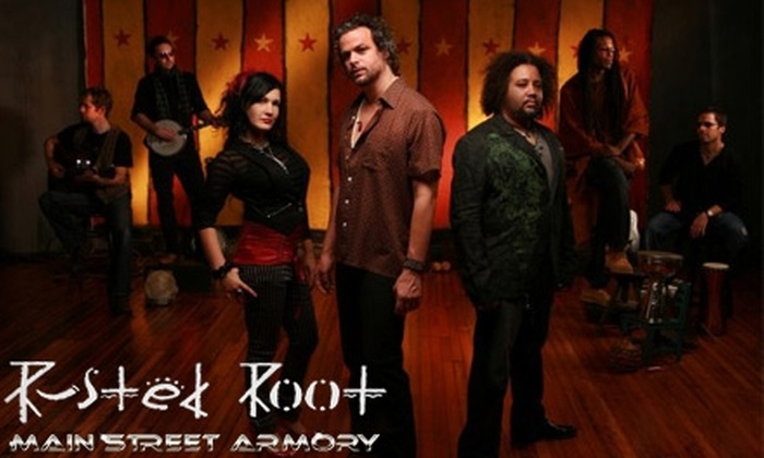 Main Street Armory - South Marketview Heights: $12 for One General-Admission Ticket to Rusted Root with Special Guests at Main Street Armory on November 5 at 7 p.m.