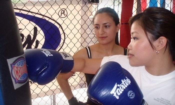Absolute Boxing & Personal Training for Women - Multiple Locations: $69 for One Year of Kickboxing Classes at Absolute Boxing & Personal Training for Women ($1,550 Value)