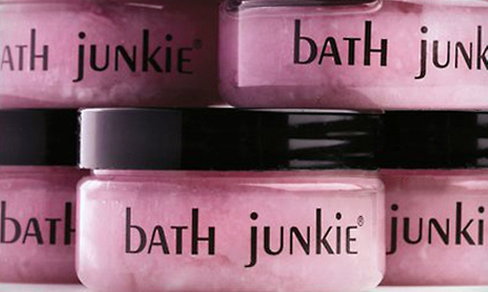 Bath Junkie  - Multiple Locations: $20 for $50 Worth of Hand-Blended Bath Products at Bath Junkie. Two Locations Available.