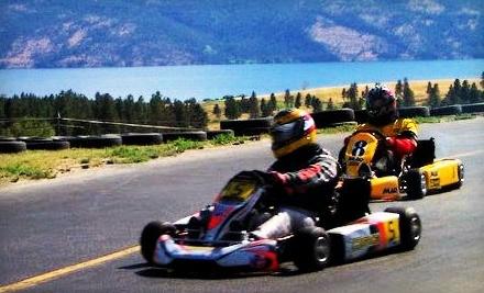 Westside Go Karts: 2 Single-Kart Races - Westside Go Karts in Westbank