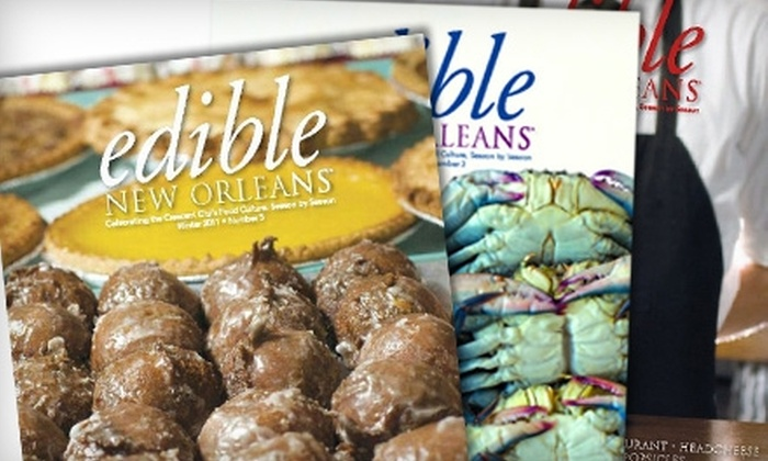 Edible New Orleans - Mandeville: $14 for One-Year Subscription to Edible New Orleans ($28 Value)