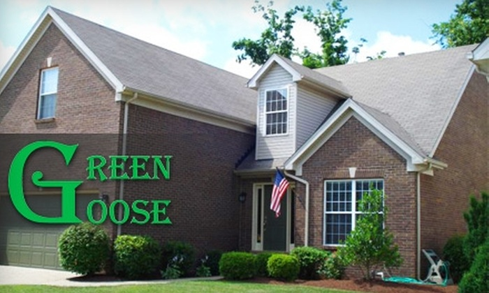 Green Goose Roof & Exterior Cleaning - Hurstbourne: $75 for $175 Worth of Exterior Housecleaning Services from Green Goose Roof & Exterior Cleaning