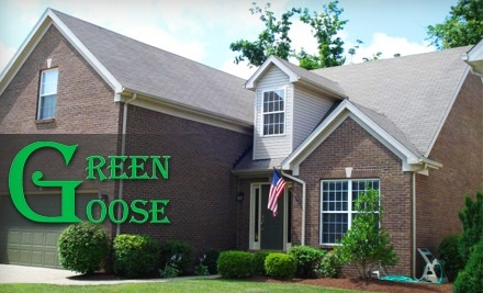 $175 Groupon for Green Goose Roof & Exterior Cleaning - Green Goose Roof & Exterior Cleaning in