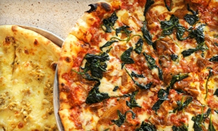 Pete's New Haven Style Apizza - Multiple Locations: $5 for $10 Worth of Pizza and Beverages at Pete's New Haven Style Apizza (or $10 for $20 at the Arlington Location Only)