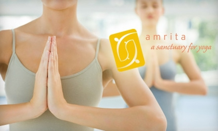 amrita: a sanctuary for yoga  - Corbet - Terwilliger - Lair Hill: $70 for a 12-Punch Pass to amrita: a sanctuary for yoga (A $145 Value)